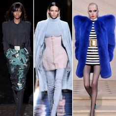 From cats to colorful velvet, scroll through to see the biggest trends and styling tricks from the fall 2016 shows at Paris Fashion Week.