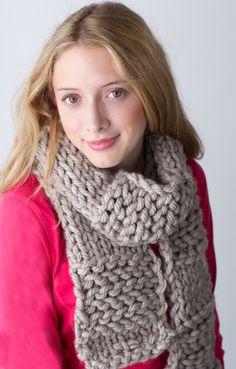 Knitting Loom ~ Dakota Scarf ~ Free Pattern