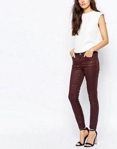 Vero #moda jeans rivestitirosso  ad Euro 25.49 in #Vero moda #Abbigliamento donna