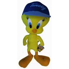 Looney Tunes Tweety Bird Stuffed Plush Toy 20 : Toys & Games :