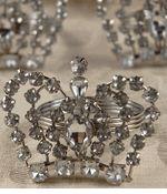Set of 4 Rhinestone Crown Napkin Rings (4 Rings)  for $11 /$2.75 each