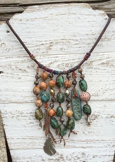 Dripping Nuggets Necklace (Customer Design) - Lima Beads