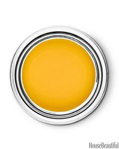 "Pratt & Lambert Sunspot 11-10    ""This is sunny and rejuvenating, a golden yellow the color of a marigold. It feels wholesome and authentic, the kind of color that would bring new life to a room. It reflects the optimism we're feeling."" —Donna Schroeder"