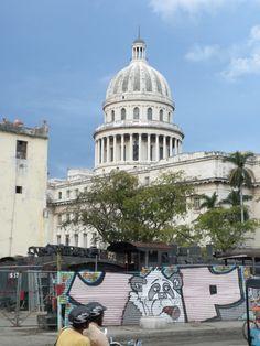 The Capitolio in Havana