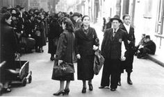Paris Jews in occupied France in 1942 by Abraham Diner