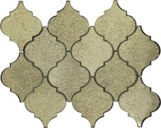 Use these beautiful antique mirror tiles from Glass Tile Oasis to create a beautiful backsplash! These arabesque mirror tiles are mesh backed for easy installation in any home. Antique Mirror Tiles, Mirror Wall Tiles, Mirror Mosaic, Mosaic Glass, Arabesque Tile Backsplash, Luxury Mirror, Unique Tile, Tile Installation, Decorative Tile