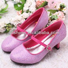 Girls High Heels | Kids Fancy High Heel Shoes | Girls Pink High ...