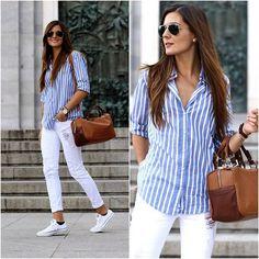 H&M Shirt, Zara Bag, Converse Sneakers, Pull & Bear Pants