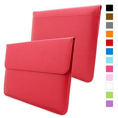 Snugg Macbook Air & Pro 13 Case - Leather Sleeve with Lifetime Guarantee (Hot Pink) for Apple Macbook Air 13 and Macbook Pro 13 with Retina Buy Macbook, Macbook Air 11 Case, Macbook Pro 15 Case, Apple Macbook Pro, Laptop Cases, Leather Case, Leather Wallet, Ipad Pro 12 9, Orange Leather