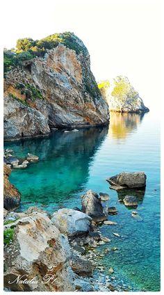 Skiathos Greece.Vew from Kastro.