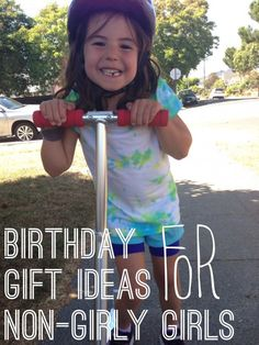 32 birthday gift ideas for girls who don't like princesses - Rookie Moms 32 Birthday, Birthday Dates, Birthday Gifts For Girls, Gifts For Kids, Tomboy Kids, Fete Audrey, Little Girl Gifts, Niece And Nephew, Business For Kids