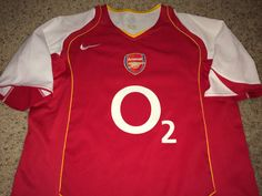 Sale Vintage Nike ARSENAL FC Soccer Jersey AFC by casualisme