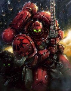 40k - Blood Angels Space Marine