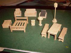 Fotos de Miniaturas -Maquetas -Muebles en escala -Microcarpinteria ...
