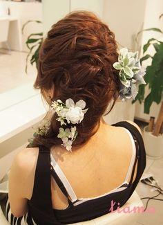 ラプンツェル風フィッシュボーンスタイル♡リハ編 |大人可愛いブライダルヘアメイク『tiamo』の結婚カタログ|Ameba (アメーバ)
