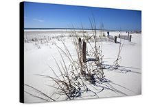 Canvas Print Beach Scene On Dauphin Island, Alabama, 2010 *** Check out this great product. (This is an affiliate link) Dauphin Island, Beach Scenes, Alabama, Kitchen Island, Poster Prints, Canvas Prints, Link, Water, Check