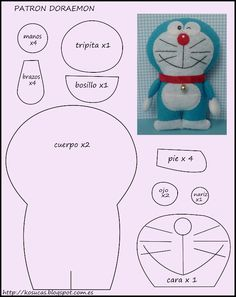 Doraemon felt