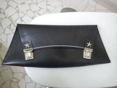 RETRO STAR inner tube rubber clutch by artikultcat on Etsy, €35.00