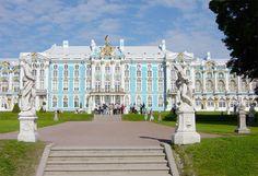 * Palácio de Catarina * # São Petersburgo, Rússia.