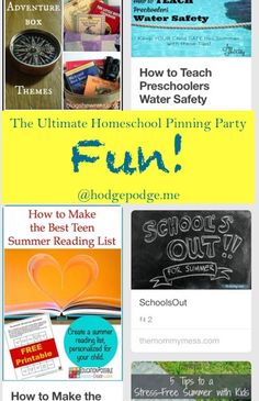 Fun at The Ultimate Homeschool Pinning Party