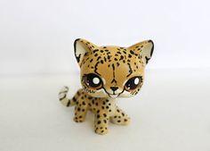 Custom Littlest Pet Shop Cheetah by MissBlueJayClay on Etsy