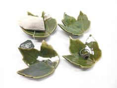 Pottery Maple Leaf Ceramic Leaf Pottery Leaf by PotteryBySaleek