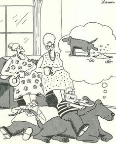 """The Far Side"" by Gary Larson. The Far Side Gallery, Cartoon Jokes, Funny Cartoons, Funny Comics, Cartoon Art, Far Side Cartoons, Far Side Comics, Haha Funny, Hilarious"