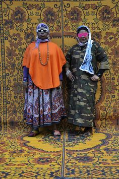 Hassan Hajjaj, My Rock Stars Experimental, Volume 1, 2012, Poetic Pilgrimage, purchased with funds provided by Art of the Middle East: CONTEMPORARY, courtesy of Rose Issa Projects