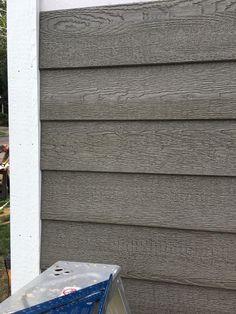 Eco-side siding is lighter than fiber cement siding, making the panel easier than ever to handle. Wood Siding House, House Siding Options, Grey Siding, Metal Siding, Vinyl Shake Siding, Exterior Siding Options, Vinyl Siding Colors, Barn Siding, Engineered Wood Siding