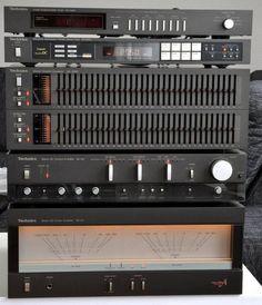 Technics SH-4060, TU-S505, SH-8065, SU-A6 and SE-A5