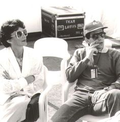 Ayrton Senna with his mother