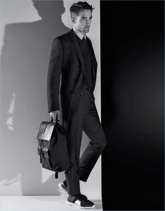 Karl Lagerfeld photographs Robert Pattinson for Dior Homme's fall-winter 2018 campaign.