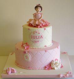 Ballerina Cake cakepins.com
