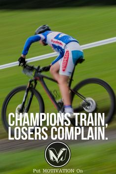 Champions train