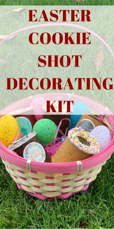 Click to get a kit to decorate your Easter Basket, so that you can have fun even when indoors with your kids. The Dirty Cookie Provides a delicious addition to Easter eggs that are a fun indoor activity to decorate with the kids. kids easter ideas,decorating for easter, holidays easter, easter foods, easter dinners, easter inspiration, easter for kids baskets, easter gift ideas for kids, make easter basket kids, easter crafts kids basket, easter basket for kids, diy easter basket ideas, Easter Gift For Adults, Easter Baskets For Toddlers, Easter Baskets To Make, Boys Easter Basket, Easter Holidays, Easter Cookies, Basket Ideas, Kids Diy, Easter Crafts