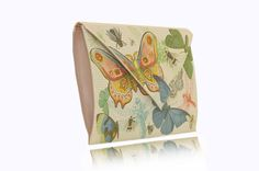 BUTTERFLY Clutches, Butterfly, Canvas, Prints, Leather, Beast, Tela, Canvases, Butterflies