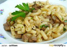 Kolínkoto recept - TopRecepty.cz No Salt Recipes, Pasta Recipes, Cooking Recipes, Healthy Recipes, Czech Recipes, Ethnic Recipes, Korean Street Food, Food 52, Main Meals