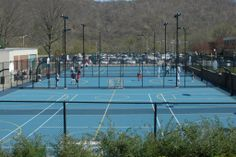 Cal U has three outdoor courts where students can play basketball or roller hockey.
