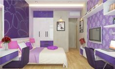 When designing a bedroom, the design will be based on age, interests of the owner of the bedroom area of the room and to design to fit most.