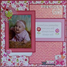 Precious Girl - Scrapbook.com