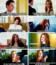 Donna comebacks. She cracks me up. Tumblr.