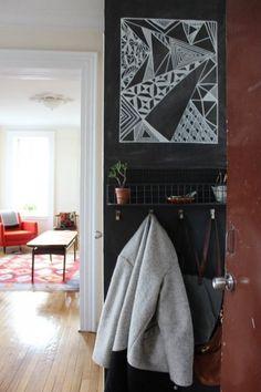 Black Wall Coat Rack - Foter