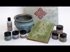 Antikoló festékek // Antiquing paints - YouTube Mixed Media Canvas, Diy Tutorial, Scrapbooks, Decoupage, Techno, Shabby, Tableware, Artwork, Youtube