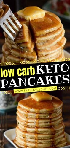 Does your family love pancakes? Then you have to give this delicious low-carb recipe a try! Even kids will look forward to eating this keto breakfast served with butter and maple syrup. The use of� More
