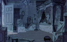 Animation Backgrounds: 101 DALMATIANS