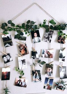 Quick and simple! DIY pictures and clothespin wall decor Quick and simple! DIY pictures and clothespin wall decor The post Quick and simple! DIY pictures and clothespin wall decor appeared first on Fotowand ideen. Cute Room Decor, Room Wall Decor, Diy Wall Decor, Flower Wall Decor, Home Decor, Diy Wand, Tree Collage, Family Tree With Pictures, Decoration Photo