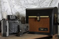 Polaroid 320 Land Camera with case by Fleaosophy on Etsy, $42.00