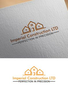 Imperial Construction Logo to the world Modern, Professional Logo Design by Creative Sarah