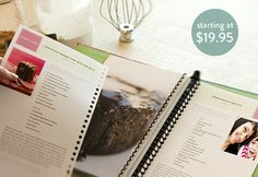 [for the kitchen] TasteBook DIY cookbook