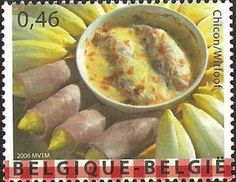 This is Belgium 4th Issue - Chicory
